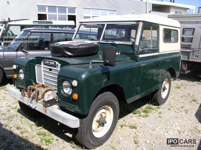 Land Rover  Series III 88 Petrol 1972 Vintage, Classic and Old Cars photo