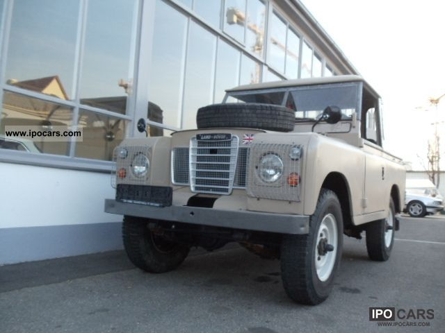 1978 Land Rover  Series III Santana Off-road Vehicle/Pickup Truck Classic Vehicle photo