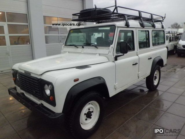 2001 Land Rover  Defender * 110 * 9-seater Off-road Vehicle/Pickup Truck Used vehicle 			(business photo