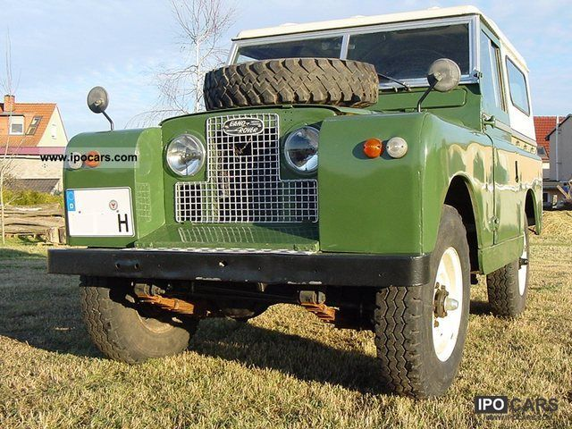 Land Rover  Series II 1967 Vintage, Classic and Old Cars photo