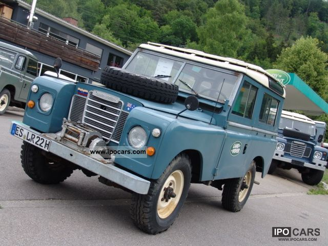 Land Rover  Series III Soft Top 1972 Vintage, Classic and Old Cars photo