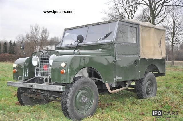 Land Rover  Series I 1958 Vintage, Classic and Old Cars photo