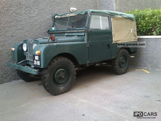 Land Rover  Series I 86 pick up truck 1955 1955 Vintage, Classic and Old Cars photo