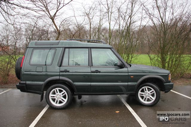 2004 Land Rover Discovery Td5 Hse Gant Navigation Car