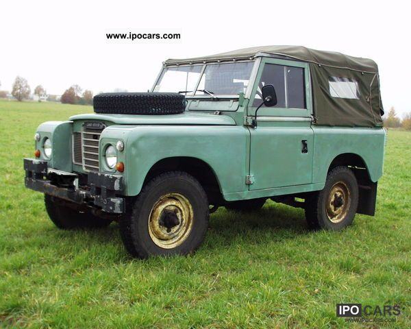 Land Rover  Series III, ATM and ATG 1977 Vintage, Classic and Old Cars photo