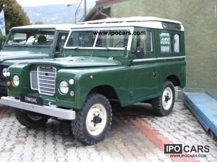 1982 Land Rover  88PU 31 000 km anno1982 cc2286dies Ge728072 Off-road Vehicle/Pickup Truck Used vehicle photo