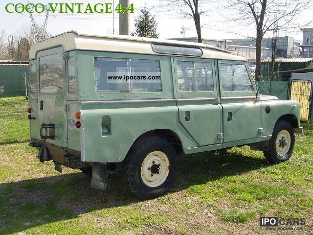 1981 land rover defender 109 land benzina 9 posti car. Black Bedroom Furniture Sets. Home Design Ideas