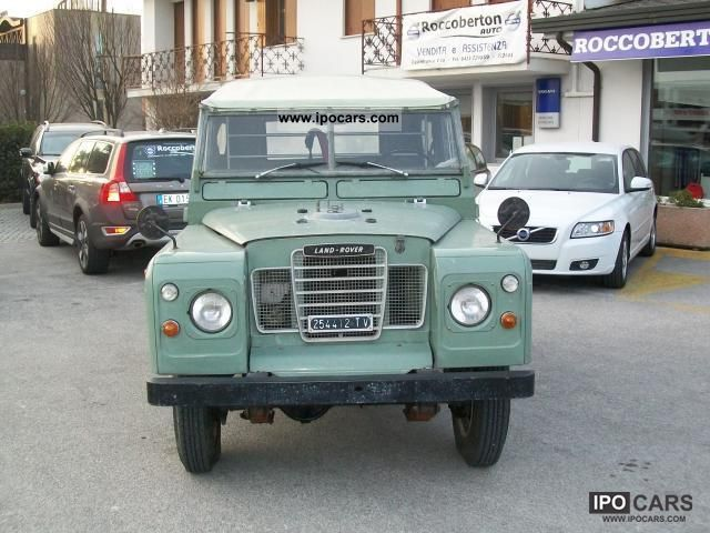 Land Rover  88 2 standard 1972 Vintage, Classic and Old Cars photo