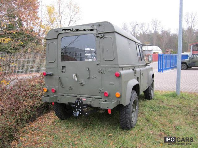 1991 Land Rover Defender 90 Ex British Army Car Photo