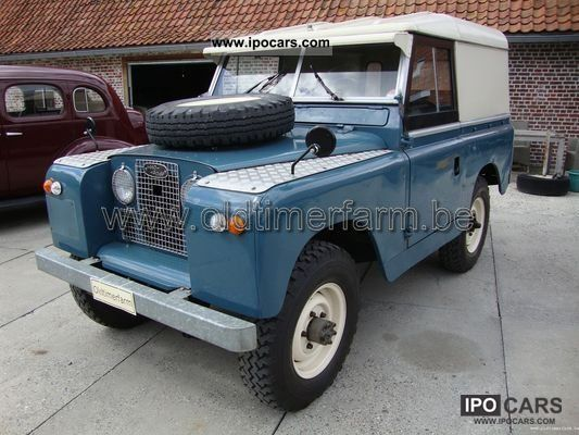 Land Rover  Series 2A RHD 1964 Vintage, Classic and Old Cars photo