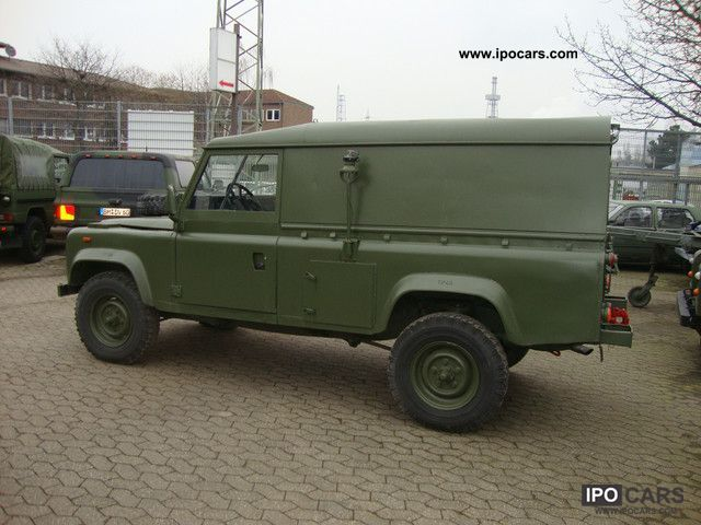 1990 Land Rover 110 ex military Army FFR LHD - Car Photo and Specs