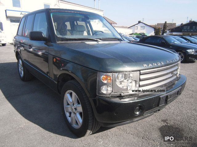 2003 Land Rover  Range Rover V8 Vogue Off-road Vehicle/Pickup Truck Used vehicle photo