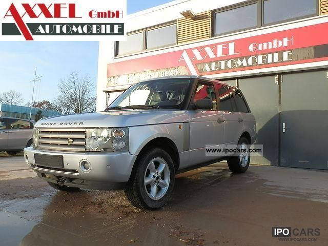 2003 Land Rover  Range Rover Vogue 3.0 Off-road Vehicle/Pickup Truck Used vehicle (business photo