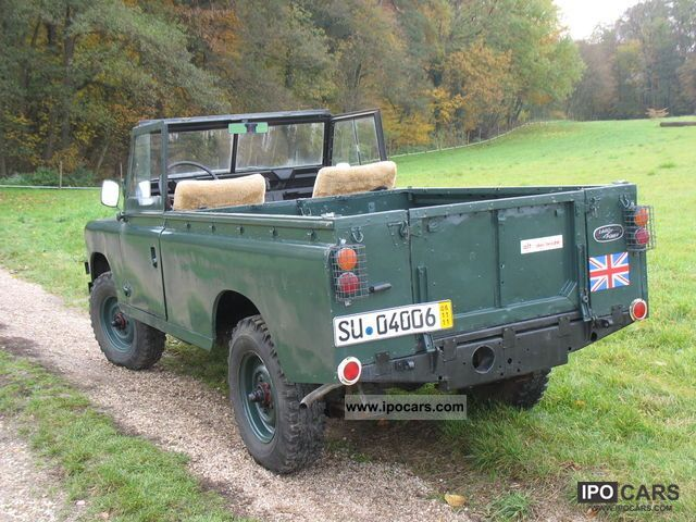 1978 land rover series ii a