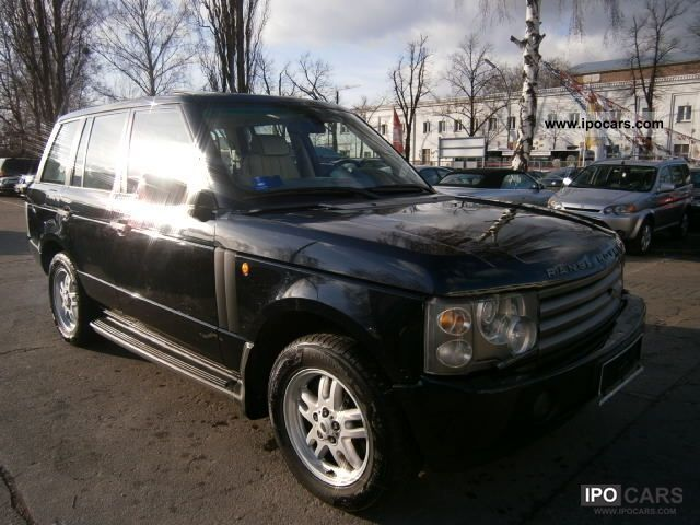 2003 Land Rover  Range Rover Vogue Td6 / Auto / Air / Leather / Nav / SD / X Off-road Vehicle/Pickup Truck Used vehicle photo