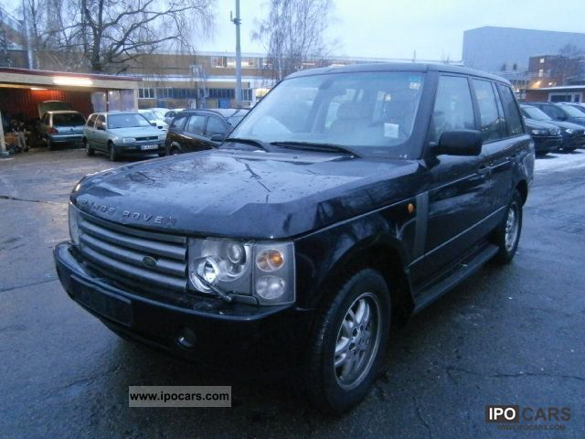 2003 land rover range rover vogue td6 auto air leather nav sd x car photo and specs. Black Bedroom Furniture Sets. Home Design Ideas