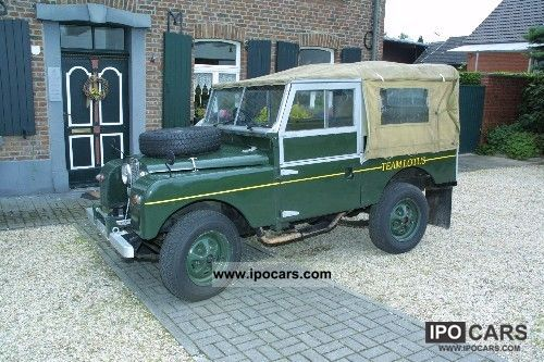 Land Rover  L -86 107 R Series I. 1955 Vintage, Classic and Old Cars photo