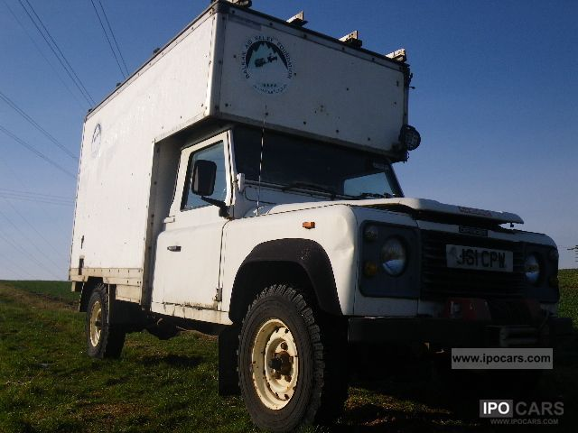 1991 Land Rover  130 200TDI! Mech.Winde! Extr.leichte GRP / ALUAufbau Off-road Vehicle/Pickup Truck Used vehicle photo