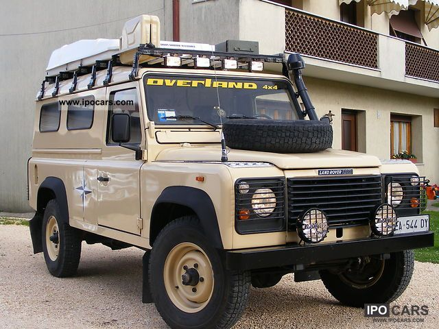 1989 Land Rover Defender - Car Photo and Specs