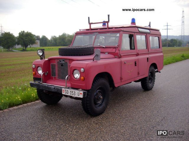 Land Rover  109 1970 Vintage, Classic and Old Cars photo