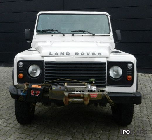 2007 Land Rover Defender 110 Station Wagon E Air Winch