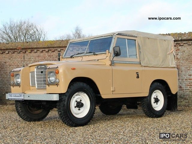 1983 Land Rover  88 Soft top LPG Off-road Vehicle/Pickup Truck Classic Vehicle photo