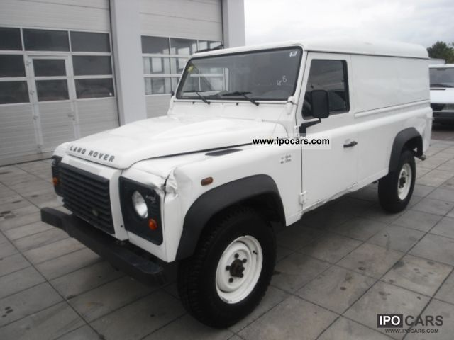 2007 Land Rover  Defender 110 * Air conditioning * 99 296 km * 4 * € Off-road Vehicle/Pickup Truck Used vehicle 			(business photo
