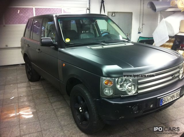 2003 Land Rover Range Rover Td6 Car Photo And Specs