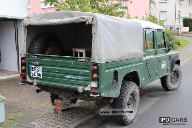 2000 Land Rover  130 cc Off-road Vehicle/Pickup Truck Used vehicle photo