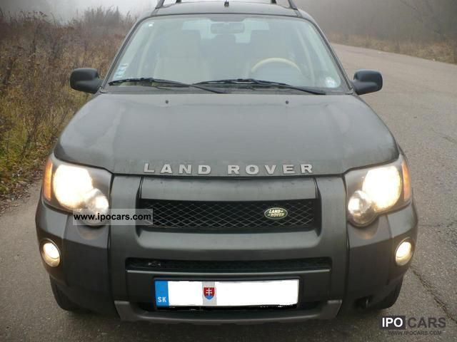 Land Rover  Freelander V6 SE + LPG 2005 Liquefied Petroleum Gas Cars (LPG, GPL, propane) photo
