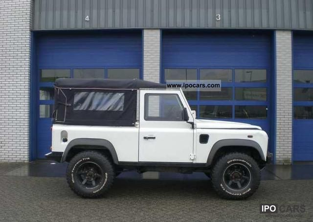 2005 Land Rover Soft Top Defender 90 Td5 Car Photo And Specs