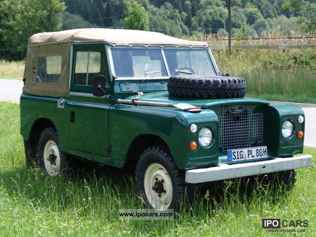 Land Rover  Series II 88 Soft Top 1971 Vintage, Classic and Old Cars photo