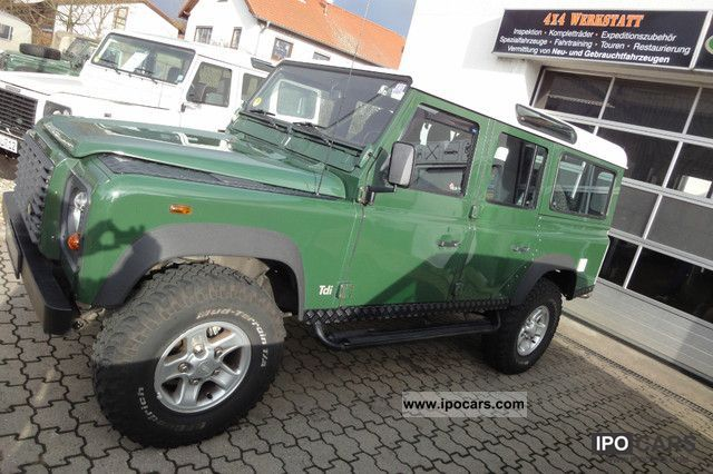 2000 Land Rover  110 Tdi * 4x4Werk.de * Off-road Vehicle/Pickup Truck Used vehicle photo