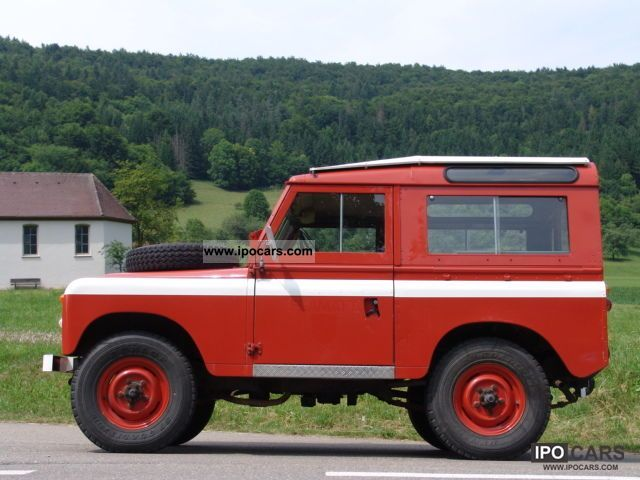 Land Rover  LR88 Series II Hard Top 1970 Vintage, Classic and Old Cars photo