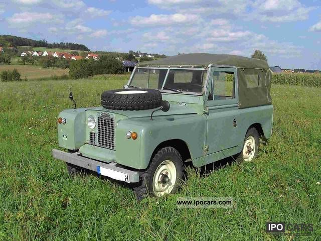 Land Rover  88 Soft Top 1961 Vintage, Classic and Old Cars photo