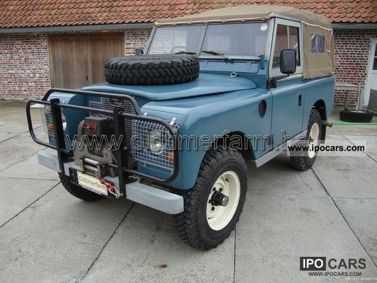 Land Rover  RHD Series 2A V8 1961 Vintage, Classic and Old Cars photo