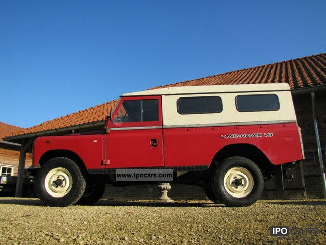 Land Rover  Stage One hardtop V8 LPG / Autogas 1983 Liquefied Petroleum Gas Cars (LPG, GPL, propane) photo