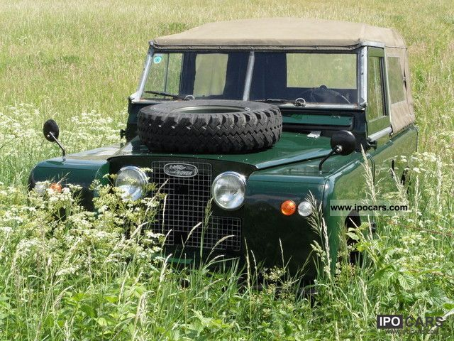 Land Rover  Series II 88 1960 Vintage, Classic and Old Cars photo