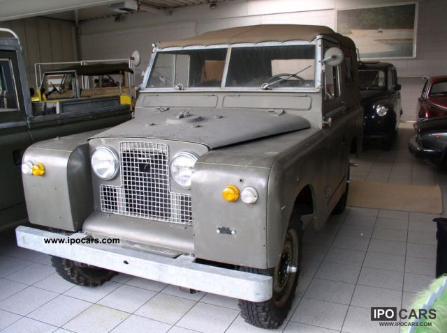Land Rover  Series II 1962 Vintage, Classic and Old Cars photo