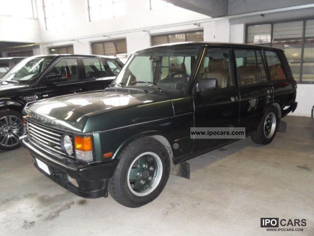 1993 Land Rover  Range Rover Vogue 4.3i cat 5 porte LSE Off-road Vehicle/Pickup Truck Used vehicle photo