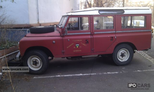 Land Rover  Series II Special Tdi 109s! 1971 Vintage, Classic and Old Cars photo