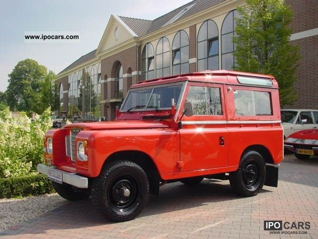 1983 Land Rover  88 Series 3 Off-road Vehicle/Pickup Truck Classic Vehicle photo