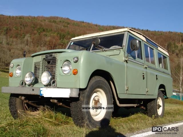 Land Rover  109 Station Wagon Series II 1971 Vintage, Classic and Old Cars photo