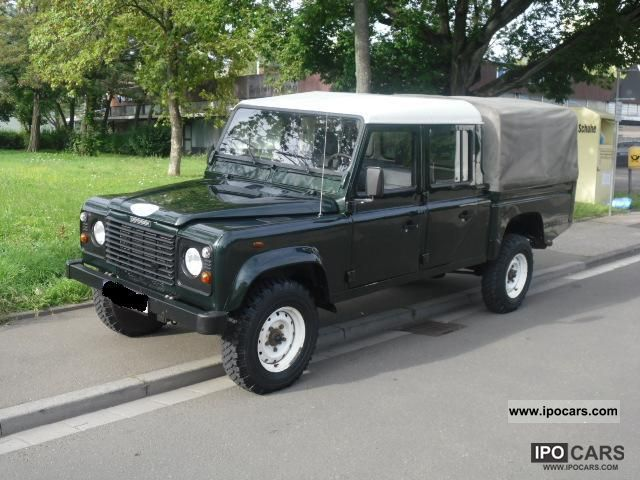 2003 Land Rover Defender 130 Td5 Crew Cab 2 Hand Sh Heater