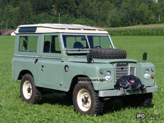 1976 Land Rover 88 Series Iii Station Wagon Car Photo And Specs
