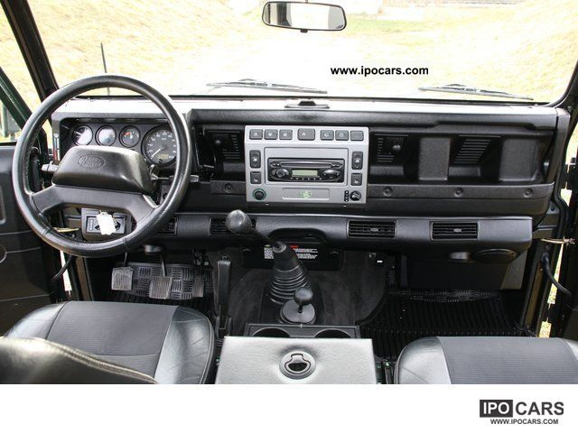 2003 Land Rover 4x4farm De Defender 110 Se Station Wagon