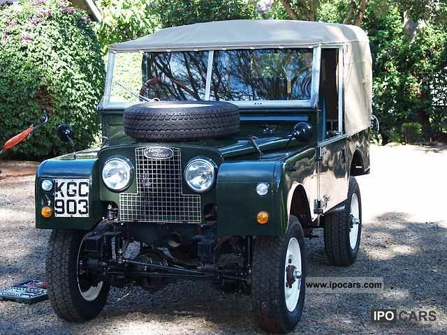 Land Rover  86 1956 Vintage, Classic and Old Cars photo