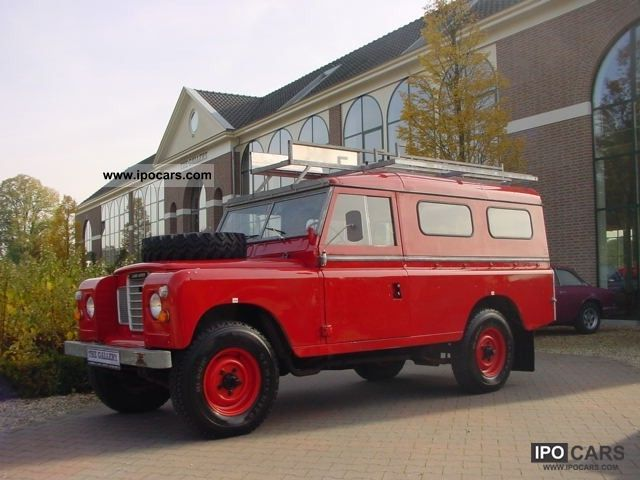 1972 Land Rover  109 Station Off-road Vehicle/Pickup Truck Classic Vehicle photo