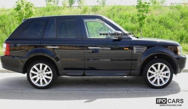 2008 land rover range rover sport tdv8 hse car photo and specs. Black Bedroom Furniture Sets. Home Design Ideas