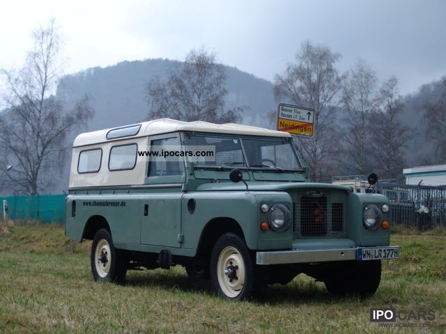 Land Rover  Series III 109 Pickup HardTop 1977 Vintage, Classic and Old Cars photo